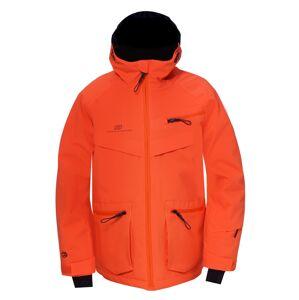 Dětská lyžařská bunda 2117 isfal oranžová 152
