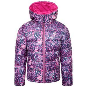 Dětská prošívaná zimní bunda dare2b bravo růžová/modrá 122_128