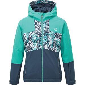 Dětská zimní bunda dare2b cavalier modrá/tyrkysová 152
