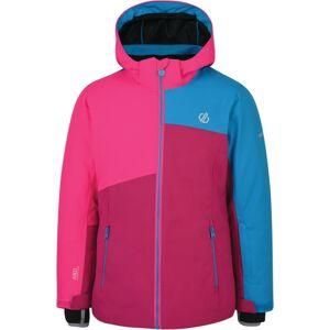 Dětská zimní bunda dare2b chancer růžová/modrá 164