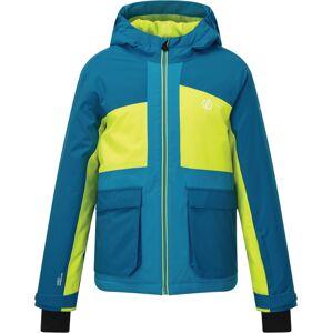 Dětská zimní bunda dare2b esteem modrá/limetková 164
