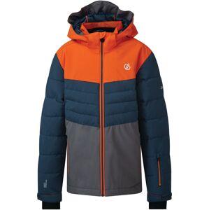 Dětská zimní bunda dare2b freeze up modrá/oranžová 122_128