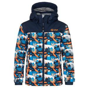 Dětská zimní bunda kilpi ateni-jb tmavě modrá 122_128
