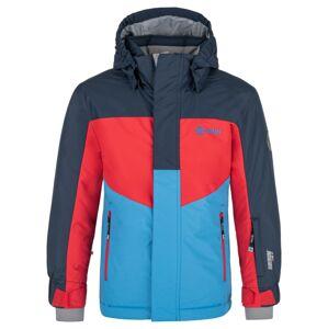 Dětská zimní bunda kilpi ober-jb tmavě modrá 146