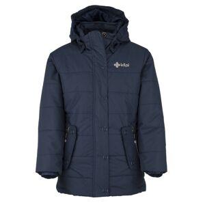 Dětská zimní bunda kilpi taura-jg tmavě modrá   122_128
