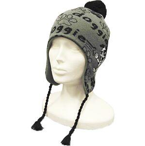 Dětská zimní čepice capu 4468 šedá