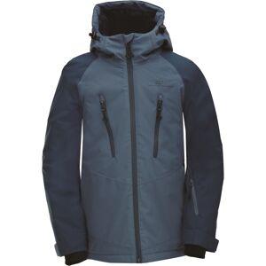 Dětská zimní lyžařská bunda 2117 lammhult námořnicky modrá 128