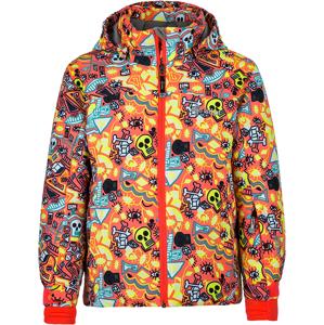 Dětská zimní lyžařská bunda kilpi genovesa-jg oranžová 134_140