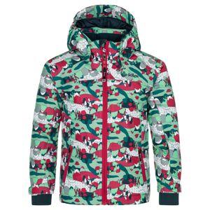 Dětská zimní lyžařská bunda kilpi jenova-jg tyrkysová 122_128