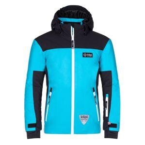 Dětská zimní lyžařská bunda kilpi team jacket-j černá 122_128