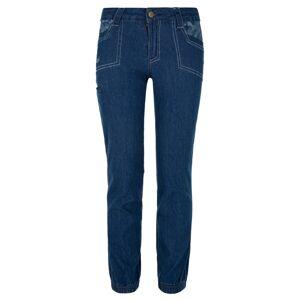 Dětské bavlněné kalhoty kilpi danny-j tmavě modrá 122_128