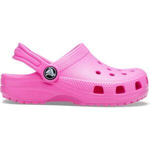 Dětské boty crocs classic růžová 33-34