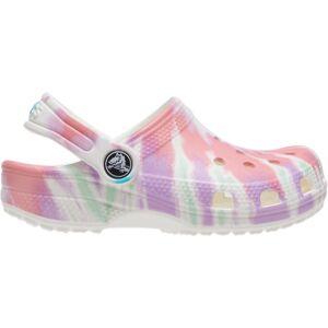 Dětské boty crocs classic tie dye bílá 27-28