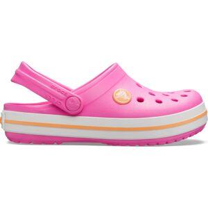 Dětské boty crocs crocband clog k růžová/oranžová 29-30