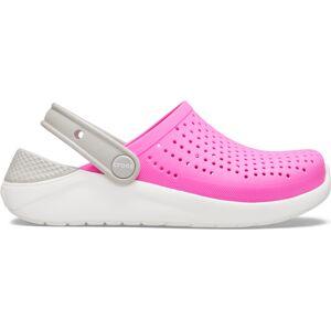 Dětské boty crocs literide clog růžová/bílá 32-33