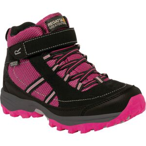Dětské boty regatta trailspace ii mid růžová/černá 33