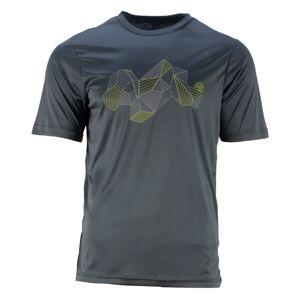 Dětské funkční tričko gts 211811 šedá 152