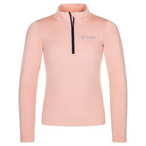 Dětské funkční tričko kilpi wilke-j světle růžová 110_116