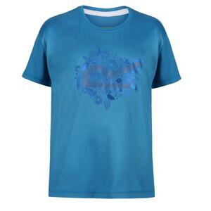 Dětské funkční tričko regatta alvarado v modrá 158