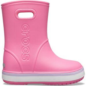Dětské holínky crocs crocband rain boot k růžová 32-33
