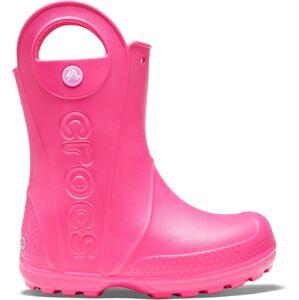 Dětské holínky crocs handle it rain boot růžová 30-31
