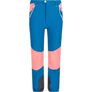 Dětské kalhoty regatta tech mountain petrolejová modrá/ohnivě růžová 110_116