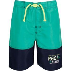 Dětské kraťasy  regatta shaul ii tmavě modrá/zelená 110_116