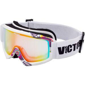 Dětské lyžařské brýle victory spv 630 bílá