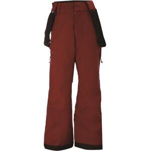 Dětské lyžařské kalhoty 2117 lammhult vínově červená 140