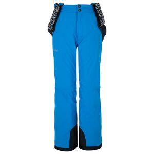 Dětské lyžařské kalhoty kilpi gabone-j modrá 146