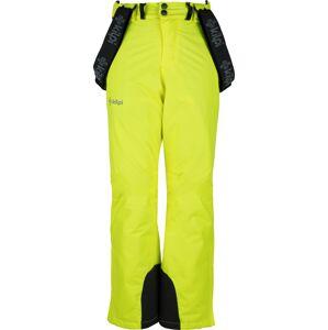Dětské lyžařské kalhoty kilpi mimas-jb žlutá 134_140