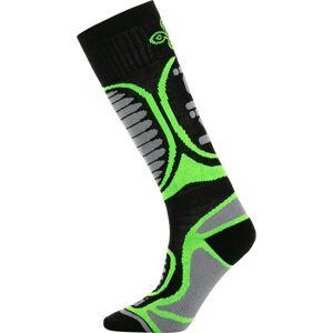 Dětské lyžařské ponožky kilpi anxo-j zelená 35