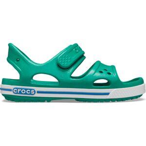 Dětské sandály crocs crocband ii zelená 32-33