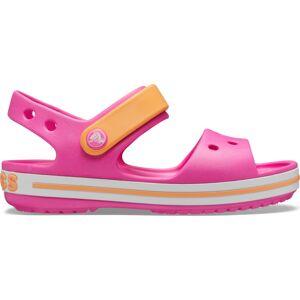 Dětské sandály crocs crocband růžová/oranžová 29-30