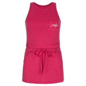 Dětské šaty kilpi fantasia-jg růžová 158