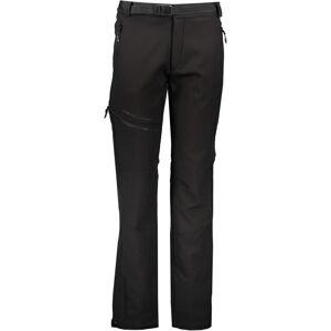 Dětské softshellové kalhoty gts 6002k černá 134_140