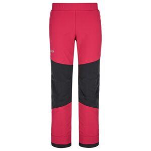 Dětské softshellové kalhoty kilpi rizo-j růžová 158
