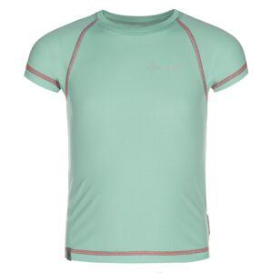 Dětské tričko kilpi tecni-jg tyrkysová 122_128