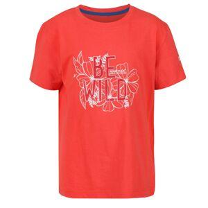 Dětské tričko regatta bosley iii korálová 122_128