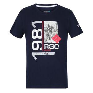 Dětské tričko regatta bosley iii tmavě modrá 134_140