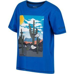 Dětské tričko regatta bosley modrá 98_104