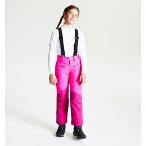 Dětské zimní lyžařské kalhoty dare2b timeout růžová 158
