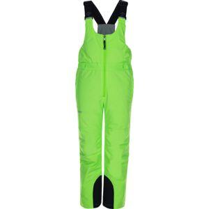 Dětské zimní lyžařské kalhoty kilpi charlie-j zelená 98_104