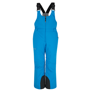 Dětské zimní lyžařské kalhoty kilpi charlie-jb modrá 98_104