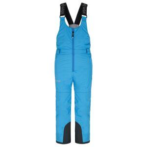Dětské zimní lyžařské kalhoty kilpi daryl-j modrá 122_128