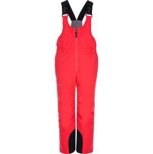 Dětské zimní lyžařské kalhoty kilpi daryl-j růžová 86