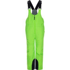 Dětské zimní lyžařské kalhoty kilpi daryl-j zelená 110_116
