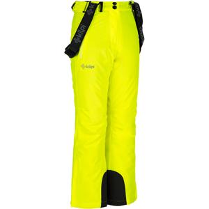 Dětské zimní lyžařské kalhoty kilpi europa-jg žlutá   134_140