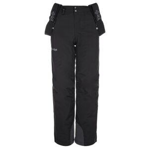 Dětské zimní lyžařské kalhoty kilpi methone-jb černá 134_140