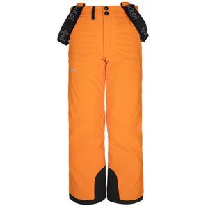 Dětské zimní lyžařské kalhoty kilpi methone-jb oranžová 158